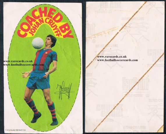 1975 Johan Cruyff CbyJC Shredded Wheat